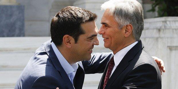 Griechen-Crash: Start für Faymann-Mission