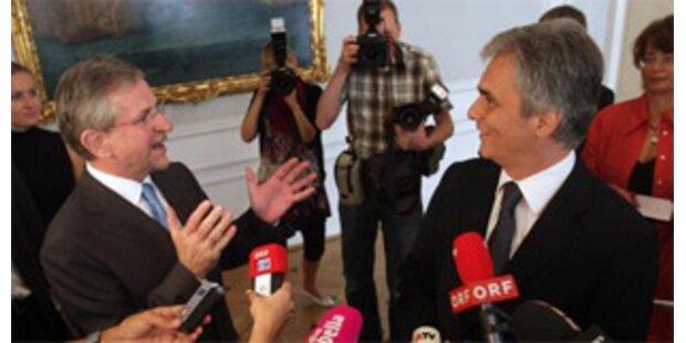 Gipfel Faymann-Molterer brachte quasi nichts