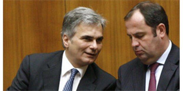 SPÖ und ÖVP verhandeln ab sofort über Koalition