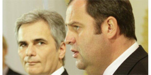 Zweite Verhandlungsrunde nach Budget-Streit