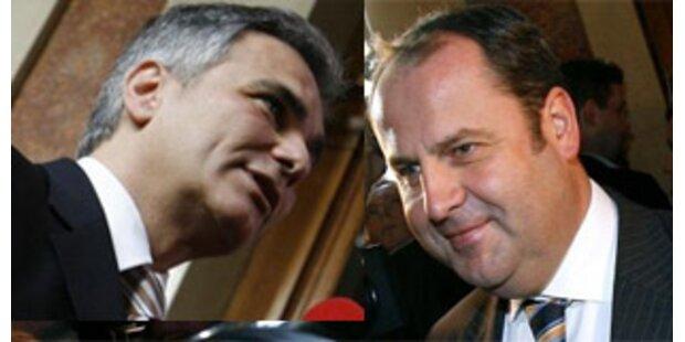 Steuerreform, EU, Hacklerregelung werden Chefsache