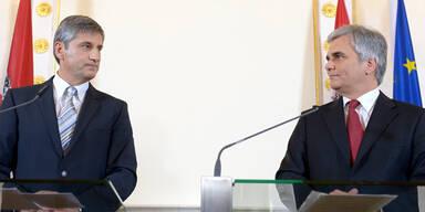 Werner Faymann, Michael Spindelegger