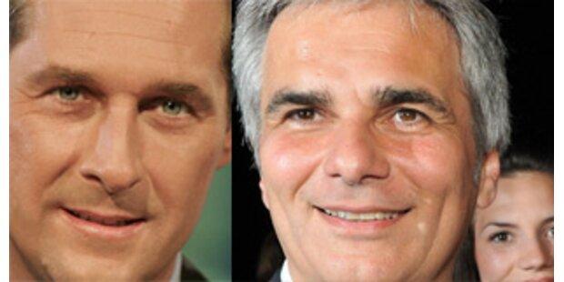 Erstes Abtasten zwischen SPÖ und FPÖ zu Teuerung