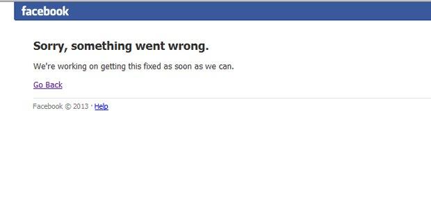 Komplett-Ausfall bei Facebook