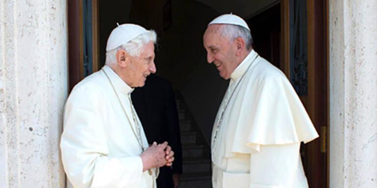 Wenn zwei Päpste Jubiläum feiern