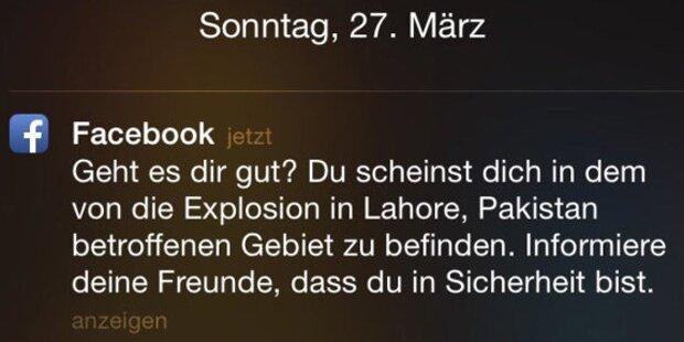 Facebook-Panne nach Anschlag in Pakistan