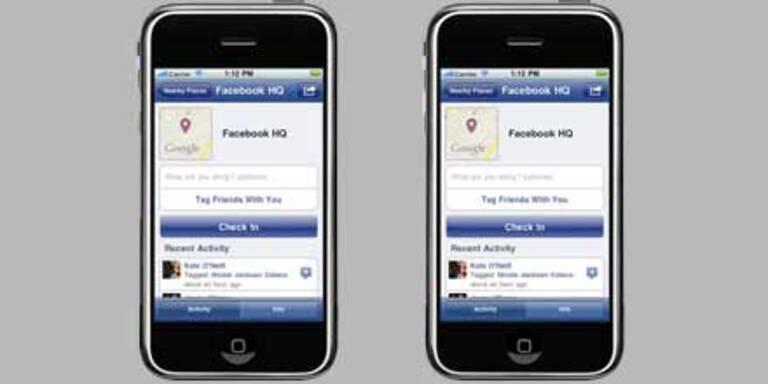 Facebook Places in Österreich gestartet