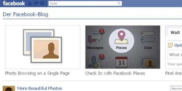 Facebook macht Flickr & Co. Konkurrenz
