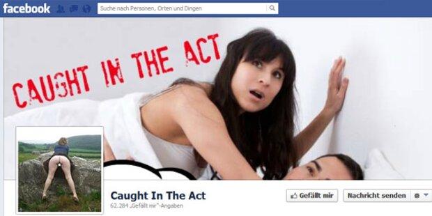 Facebook-Seite zeigt peinliche Sex-Fotos