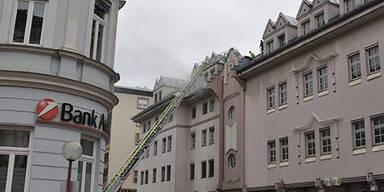 Villach: Ein Verletzter bei Brand