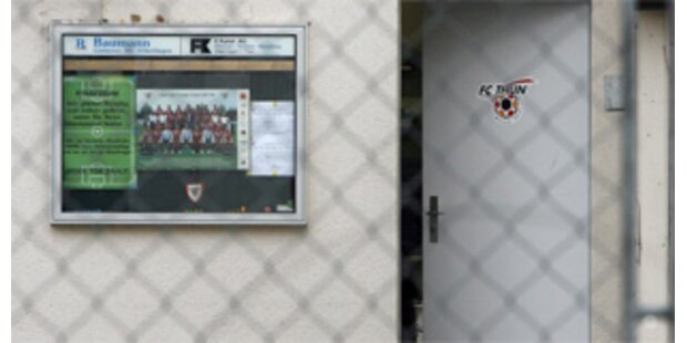 Untersuchungen gegen FC Thun schreiten voran