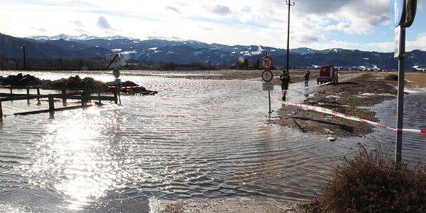 Entwarnung nach Überschwemmungen