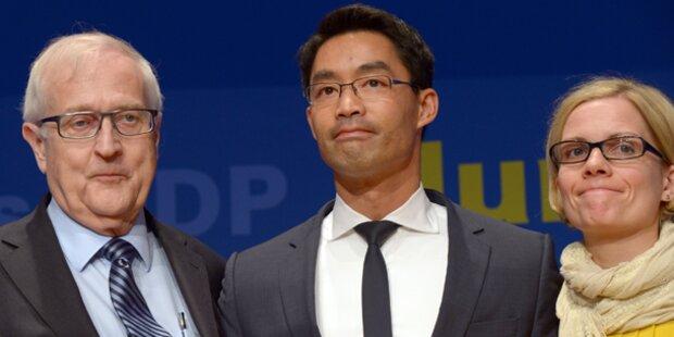 FDP-Chef Philipp Rösler tritt zurück