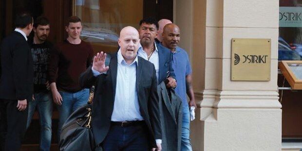 Mike Tyson: Farce um Wien-Besuch