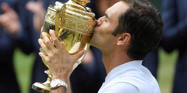 Historisch: Federer holt Rekordtitel