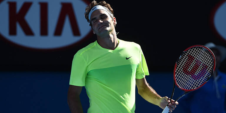 Sensation: Federer in Runde 3 out