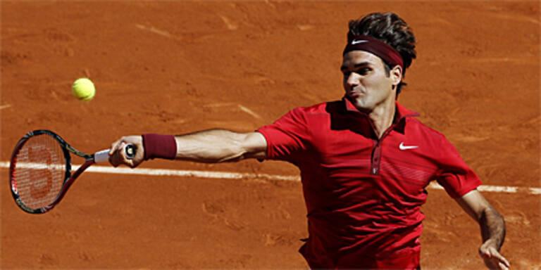 Federer im Halbfinale gegen Djokovic
