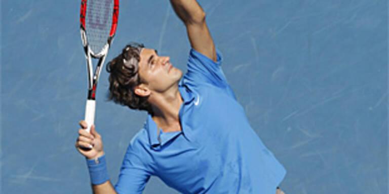 Federer baut Führung in Weltrangliste aus