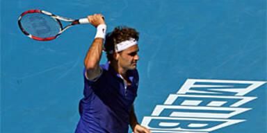 Federer und Djokovic in 3. Runde