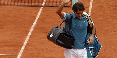 Superstar Federer im Viertelfinale out
