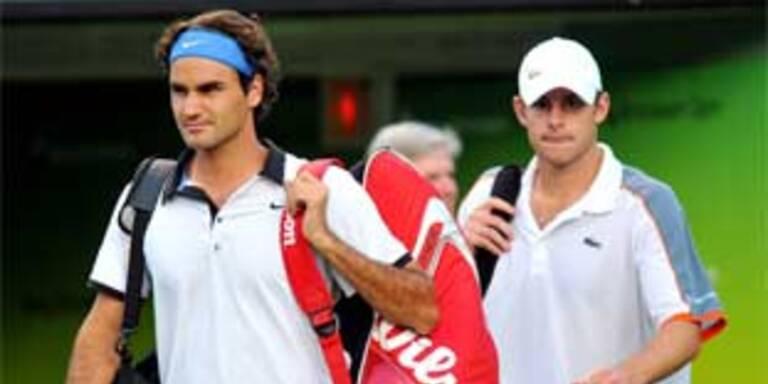 Federer verlor zum ersten Mal seit 2003 gegen Roddick