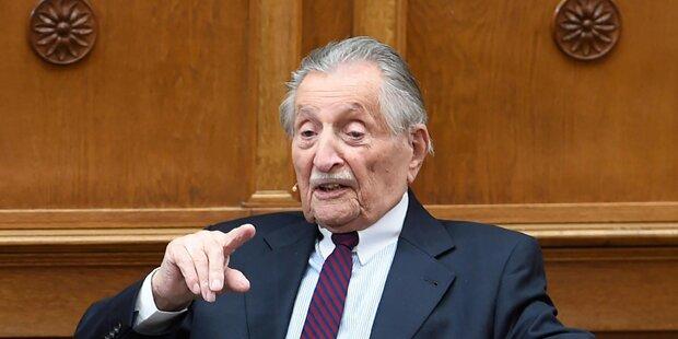 KZ-Überlebender Marko Feingold gestorben
