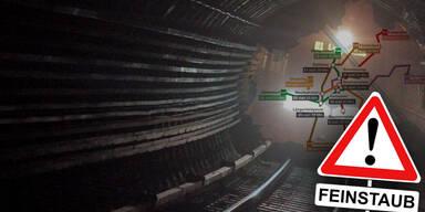 U-Bahn: Wo Sie am meisten Feinstaub einatmen