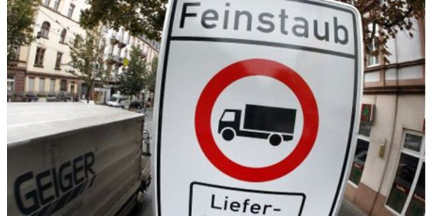 EU verwarnt Österreich wegen Feinstaub
