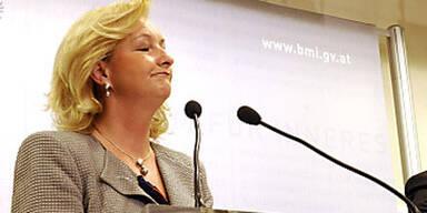 ÖVP-Innenministerin Maria Fekter