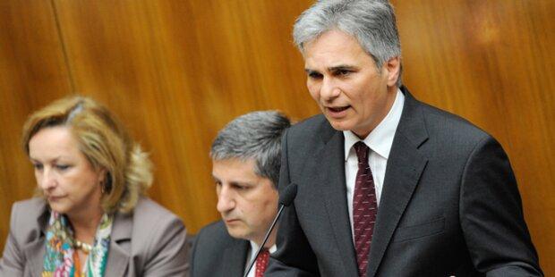 Budget-Defezit für 2011 bei 3,3 Prozent