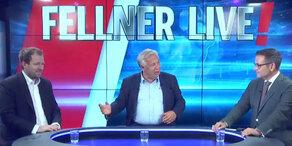 Fellner! LIVE: Das brutale Polit-Duell Grosz gegen Fußi