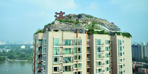 Irrer Professor baute Villa auf Hochhaus-Dach