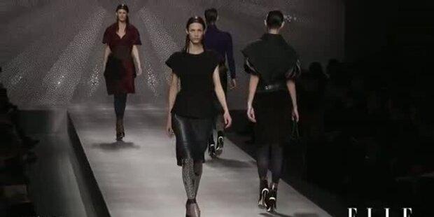 Moderne Weiblichkeit: Fendi HW 2012/13