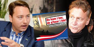 Fendrich klagt FPÖ wegen Wahl-Plakaten