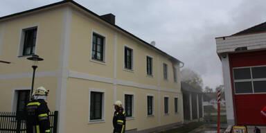 Brand in Wohnhaus im Bezirk Melk: Mann sprang aus Fenster