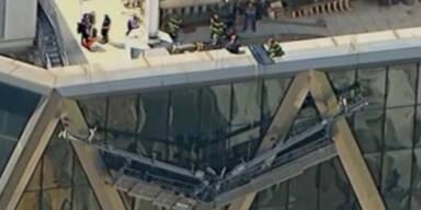 USA: Fensterputzer von Hochhaus gerettet