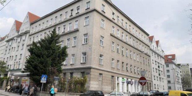 Baby in Wien aus dem 3. Stock gestürzt