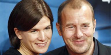 Schauspieler Heino Ferch mit seiner Frau Marie Jeanette Steinle