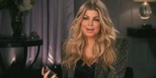 Fergie wirbt für neues Parfum