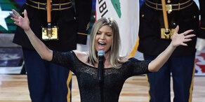 Fergie: Zerknirscht nach Hymnen-Kritik