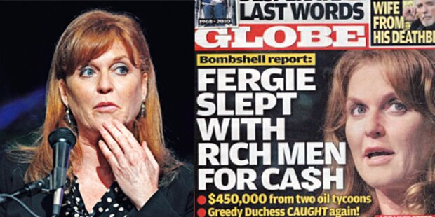 Fergie ließ Männer für Sex bezahlen