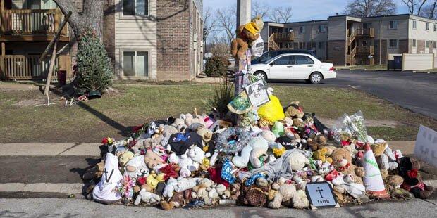 Ferguson: Brown-Denkmal überfahren