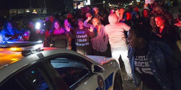 Polizisten in Ferguson angeschossen