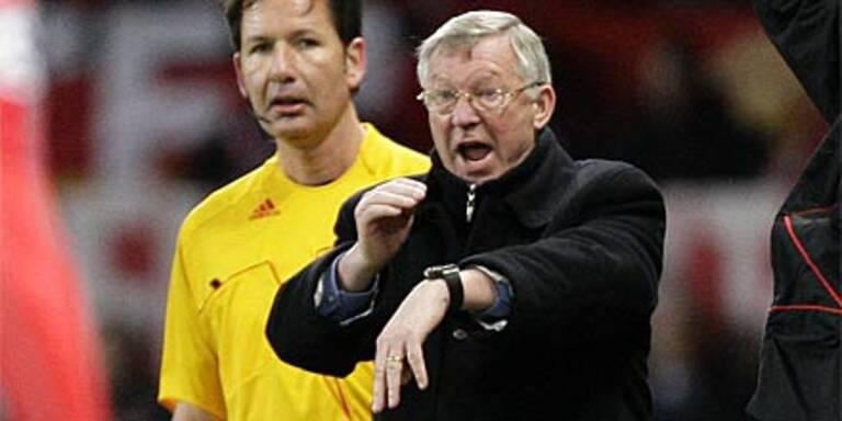 ManU-Coach als schlechter Verlierer