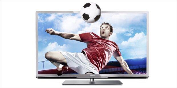 Die besten Fernseher für die EURO 2012