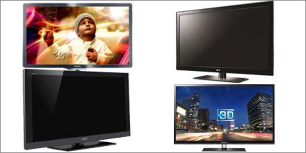 Top FullHD-LCD-Fernseher bis 900 Euro