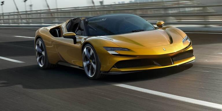 Erster 1.000-PS-Ferrari jetzt auch ohne Dach