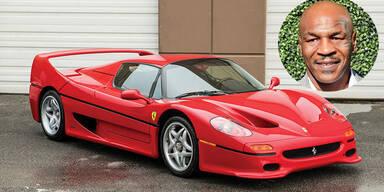 Mike Tysons Ferrari unterm Hammer