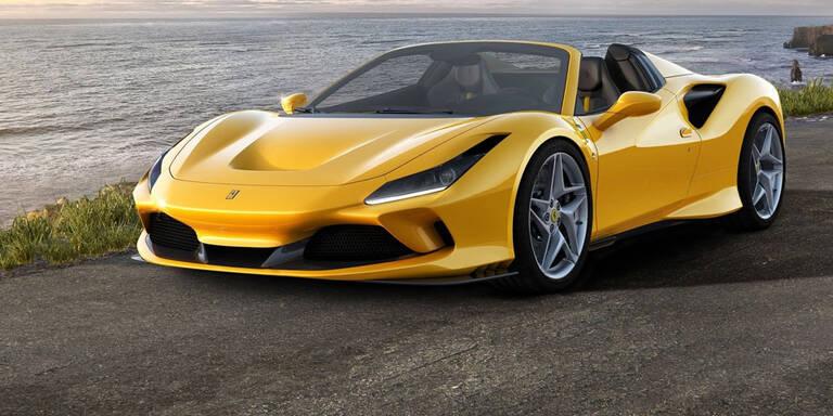 Ferrari greift mit dem F8 Spider an