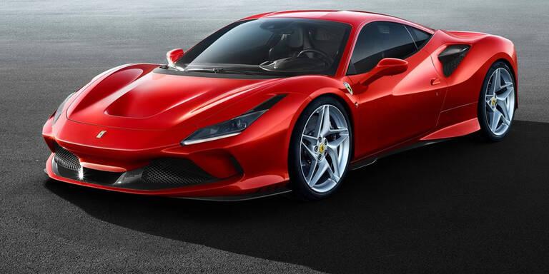Ferrari greift mit dem F8 Tributo an